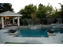 Backyard Landscaping Ideas With Pool Vineyard Pools Home