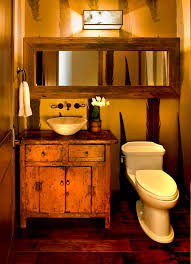 rustic bathroom decor ideas the knotty rustic bathroom mirror cabinets with lights lestnic