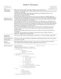 Resume Job In Linux by Call Centre Experience Resume Free Resume Example And Writing