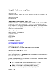 Student Teaching Resume Samples by Case Study Template Education Virtren Com