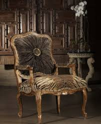 Style Chairs High Style Tiger Print Chair 230