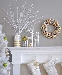 Silver And White Christmas Decorations Strikingly White Christmas Decorations Pleasing Best 25 Ideas On