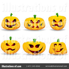 halloween pumpkins clipart 222061 illustration by kj pargeter