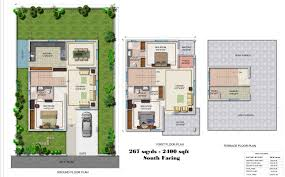 Individual house plan south facing House and home design