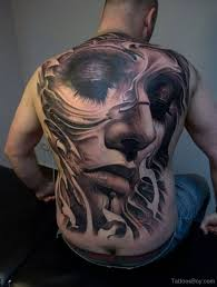 tattoo back face girl face tattoo on full back tattoo designs tattoo pictures
