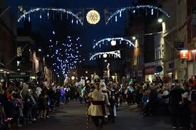 when is gloucester u0027s christmas lantern parade and lights switch on