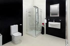 black tile bathroom ideas marble tile modern wood cabinet with metal handles