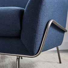 Regal Kitchen Pro Collection by Lucas Wire Base Chair Regal Blue West Elm Au
