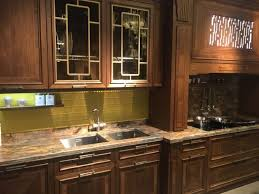 Textured Glass Cabinet Doors Textured Glass Kitchen Cabinets Black Backdrop Light Brown