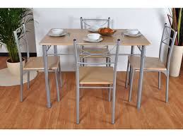 conforama tables de cuisine ensemble table 4 chaises sernan coloris gris hêtre vente de
