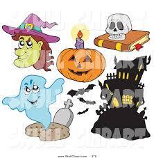 royalty free stock skull designs of halloween pumpkins