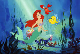 mermaid cartoon hd wallpaper 7021908