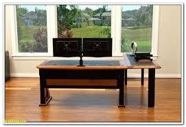 computer desk for dual monitors computer desk for two monitors luxury desk dual monitor puter