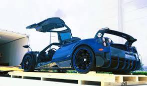 lamborghini veneno blue delivery of kris singh u0027s new pagani huayra bc macchina volante