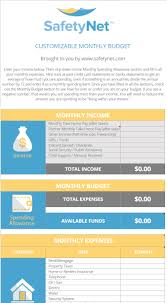 Monthly Bills Spreadsheet Budgeting Excel Template Spreadsheet Free Download By Safetynet
