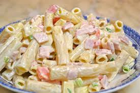 Pasta Salad Recipe Mayo by Creamy Pasta Salad Recipe Easy Chicken Club Pasta Salad Recipe