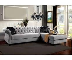 Grey Velvet Sectional Sofa The Modern Grey Velvet Sectional Sofa Household Prepare Clubnoma