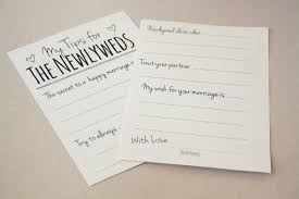 bridal advice cards diy newlywed tip jar printable guest book alternative