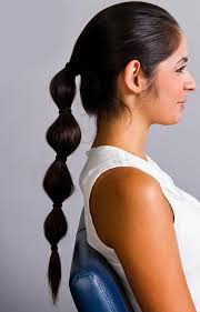 simple hairstyles with one elastic 8 easy and cute hairstyles for lazy girls fashionisers
