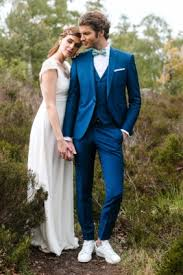 costume bleu marine mariage un mariage sur mesure