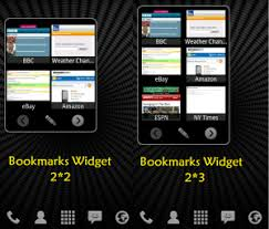 android bookmark widget bookmarks widget updates one new dolphin add on arrives