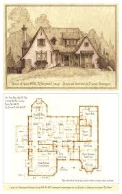 English Cottage Home Plans Exellent One Level English Cottage House Plans Storybook Joy On Decor
