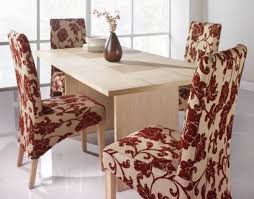 Fabric Dining Room Chairs Dining Room Chair Fabric Ideas For Minimalist Small Dining Table
