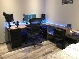 Corner Gaming Computer Desk by Best 25 Gaming Desk Ideas On Pinterest Gaming Computer Desk