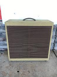4x10 Guitar Cabinet Mojo 4x10 Guitar Cabinet Tweed Reverb