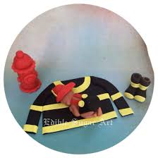 firefighter home decorations firefighter baby shower cake topper first birthday party