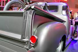 custom truck tail lights 2013 sema show icon s ultimate thriftmaster puts emphasis on