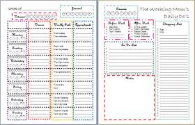 free printable daily planner pages 2014 15 free resources to help you get organized in 2014 money saving mom