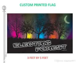 3x5 Foot Flag Electric Forest Music Festival Flag Home Decorative 3 X 5 Feet
