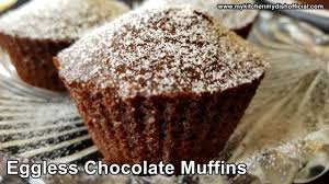 how to make chocolate muffin cake eggless cake recipe my