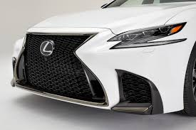 white lexus nyias 2017 2018 lexus ls 500 f sport pops its white collar