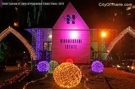 Diwali Home Decoration Lights Diwali Carnival Of Lights 2015 Hiranandani Estate Thane City