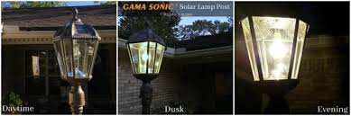 gama sonic solar lights gama sonic solar l giveaway see how i enhanced my outdoor