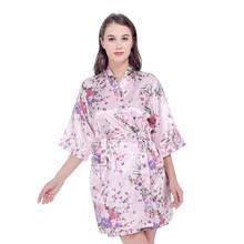 robe de chambre en satin pour femme achetez des robes de chambre et peignoir femme fashion sur viva femina