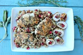 stuffing turkey recipes thanksgiving apple cranberry stuffed turkey breast recipe hello creative family