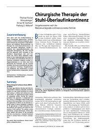 Esszimmerstuhl Segm Ler Chirurgische Therapie Der Stuhl überlaufinkontinenz