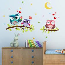 Owl Wall Decor by Aliexpress Buy Shijuehezi Creative Snowy Owl Wall
