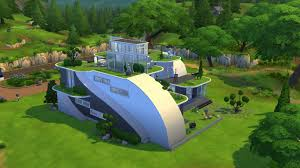 the sims 4 futuristic house building youtube