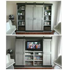 Tv Cabinet Doors Tv Cabinet With Sliding Doors To Hide Tv Cabinet Doors