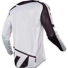 fox motocross jerseys fox racing 2017 mx new 180 race airline white black vented