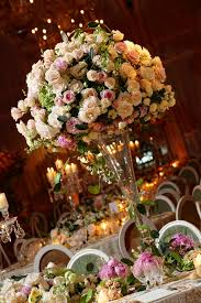 171 best centerpiece trumpet vase images on pinterest