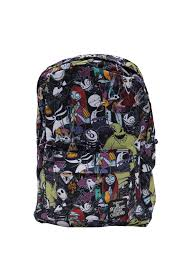 nightmare before christmas character print backpack topic