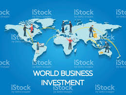 Flat World Map Business Startup Work Moments Flat Banner People On The World Map