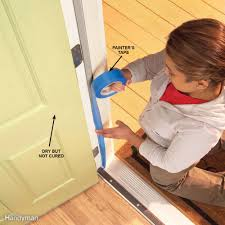 Tips For Selecting The Perfect Door Hardware For Your by Great Tips For Painting Doors Family Handyman