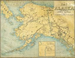 Alaska Map by Punnet Bros Map Of Alaska 1897