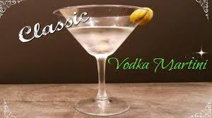 vodka martini classic vodka martini youtube